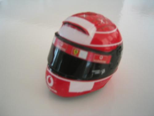 Ferrari F2004(ヘルメット:前)