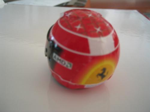 Ferrari F2004(ヘルメット:後)